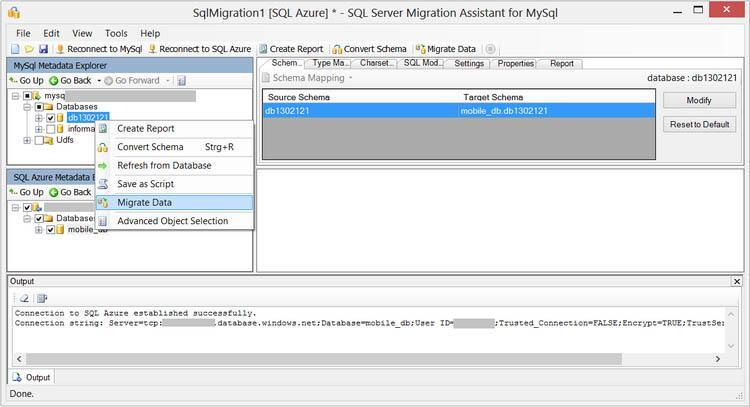 Microsoft SQL Server Migration Assistant